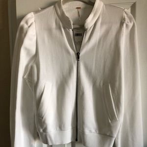 New Free People zip front cardigan.$ 60.00